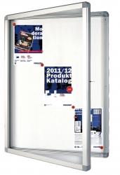 Schaukasten ECO Outdoor -12x A4, 98 x 101,1 x 4,5 cm, weiß, magnethaftend