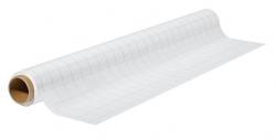 Xtra!Line®Chart Schreibfolie - weiß, kariert,60x80cm, 25 Blatt gerollt