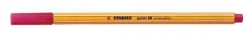 Fineliner point 88® erasable, 0,4 mm, rot