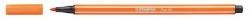 Fasermaler Pen 68 - 1 mm, gelbrot