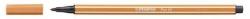 Fasermaler Pen 68 - 1 mm, ocker dunkel