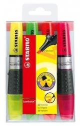 Textmarker LUMINATOR®, Etui mit 4 Stiften