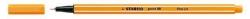 Fineliner point 88®, 0,4 mm, orange