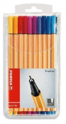Fineliner point 88® Etui, mit 20 Stiften