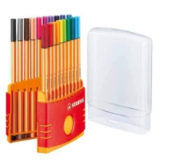 Fineliner point 88® ColorParade, Box mit 20 Stiften