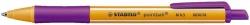 Kugelschreiber pointball, 0,5 mm, lila
