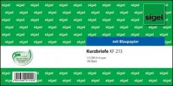 Kurzmitteilungen »Kurzbrief« - 1/3 A4 quer, 100 Blatt