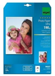 Inkjet Fotopapier Ultra - A4, seidenmatt, 190 g/qm, 20 Blatt
