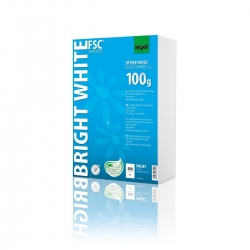 Office Papier BRIGHT WHITE, ultraweiß, 100 g/qm, A4, 500 Blatt