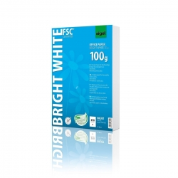 Office Papier BRIGHT WHITE, ultraweiß, 100 g/qm, A4, 250 Blatt