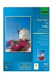 Inkjet Fotopapier Top - A4, hochglänzend, 170 g/qm, 50 Blatt