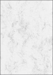 Marmor-Papier, grau, A4, 90 g/qm, 100 Blatt
