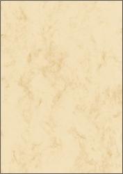 Marmor-Papier, beige, A4, 90 g/qm, 100 Blatt