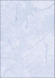 Struktur-Papier, Granit blau, A4, 90 g/qm, 100 Blatt