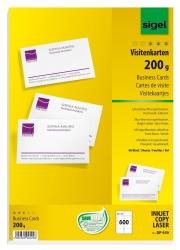 Visitenkarten, microperforiert, satiniert200 g/qm, hochweiß, 600 Stück