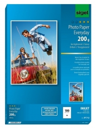 Inkjet Fotopapier Everyday - A4, hochglänzend, 200 g/qm, 100 Blatt
