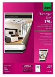 Fotopapier für Farb-Laser/-Kopierer - A4, 2-seitig hochglänzend, 170 g/qm, 200 Blatt