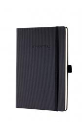 Notizbuch CONCEPTUM® - ca. A5, kariert, 194 Seiten, schwarz, Hardcover