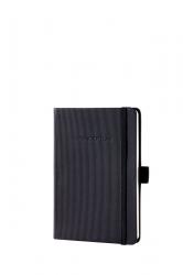 Notizbuch CONCEPTUM® - ca. A6, liniert, 194 Seiten, schwarz, Hardcover