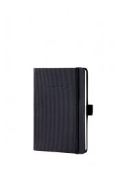 Notizbuch CONCEPTUM® - ca. A6, kariert, 194 Seiten, schwarz, Hardcover