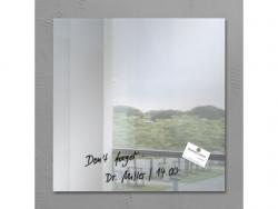 Glas-Magnetboard artverum® - Spiegel, 48 x 48 cm