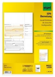 PC-SEPA-Überweisung, Gültig für alle Banken und Sparkassen, 100 Stück
