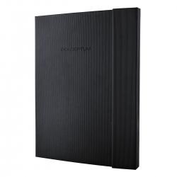 Notizbuch CONCEPTUM® - A4+, liniert, 194 Seiten, schwarz, Hardcover, Magnetverschluss