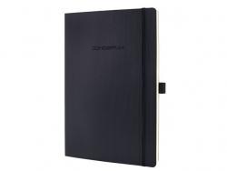Notizbuch CONCEPTUM® - ca. A4+, liniert, 194 Seiten, schwarz, Softcover