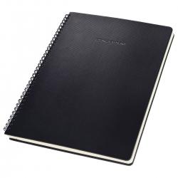 Collegeblock CONCEPTUM® - ca. A4, kariert, 80 Blatt, mit Register, schwarz