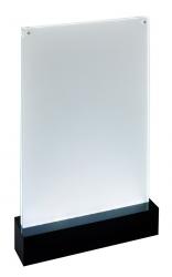 LED-Tischaufsteller luminous - beleuchtbar, für A4
