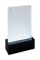 LED-Tischaufsteller luminous - beleuchtbar, für A6