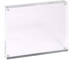 Acryl Bilderrahmen - 17,8 x 12,7 x 3 cm, glasklar