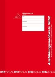 Ausbildungsnachweis-Block täglich, alle Berufe / IHK Berlin, 28 Blatt, DIN A4