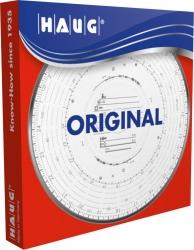 Original HAUG Diagrammscheiben 180 100 (180 km/h Automatik), 100 Stück