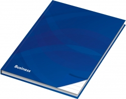 Notizbuch - A6, Hardcover, liniert, 96 Blatt, blau