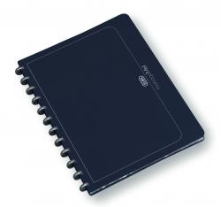 Ringmappe manageMe! Information-Manager - A4, 25 Hüllen, 252 x 316 mm, dunkelblau