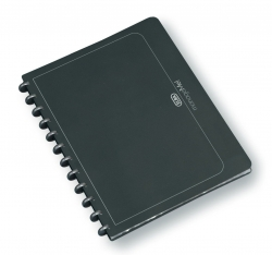 Ringmappe manageMe! Information-Manager - A4, 25 Hüllen, 252 x 316 mm, anthrazit