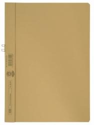 Klemmmappe, Manilakarton (RC), 250 g/qm, für 10 Blatt A4, gelb