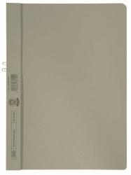 Klemmmappe, Manilakarton (RC), 250 g/qm, für 10 Blatt A4, grau