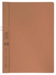 Klemmmappe, Manilakarton (RC), 250 g/qm, für 10 Blatt A4, orange