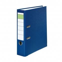 Schlitzordner PP - A4, 80 mm, blau