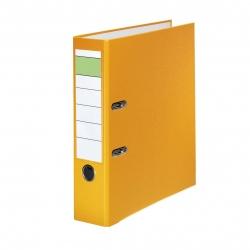 Schlitzordner PP - A4, 80 mm, gelb