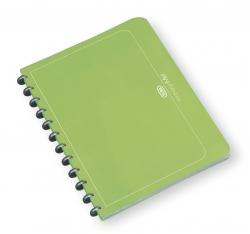 Ringmappe manageMe! Information-Manager - A4, 25 Hüllen, 252 x 316 mm, grasgrün