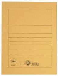 Aktenmappe, Manilakarton (RC), 250 g/qm, A4, 15 mm, gelb