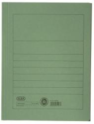 Aktenmappe, Manilakarton (RC), 250 g/qm, A4, 15 mm, grün