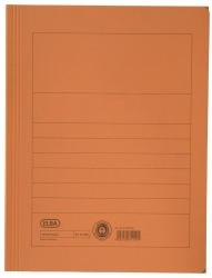 Aktenmappe, Manilakarton (RC), 250 g/qm, A4, 15 mm, orange