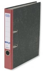 Ordner smart Original - Wolkenmarmor, A4, 50 mm, rot