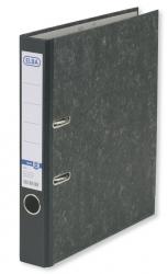 Ordner smart Original - Wolkenmarmor, A4, 50 mm, schwarz