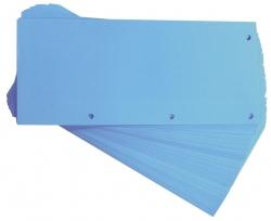 Trennstreifen Duo 160 g/qm Karton - blau, 60 Stück