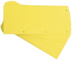 Trennstreifen Duo 160 g/qm Karton - gelb, 60 Stück